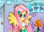 Fluttershy Pet Salon