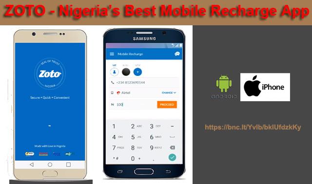 Introducing Zoto – Nigeria's Best Mobile Recharge App