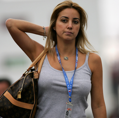 Anna Rafaela Bassi Pacar dan Istri Pembapap F1 tercantik dan seksi