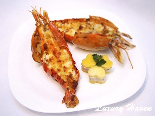 cooking oceana seafood baked cheesy river prawns