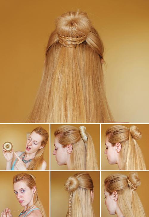 Braid Bun Hairstyles Step By Step Entertainment News Photos