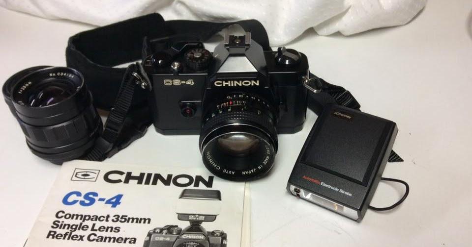Random Camera Blog: The Chinon CS-4