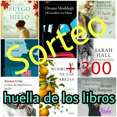 Sorteo +300 de La huella de los libros