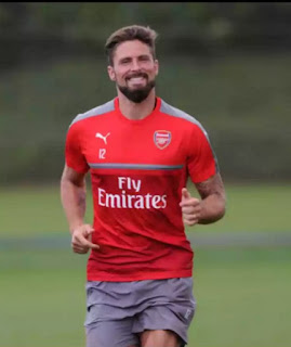 Giroud for Mbappe