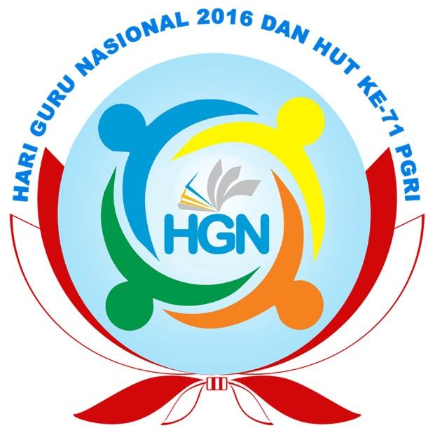 Logo Hari Guru Nasional 2016 dan HUT ke-71 PGRI