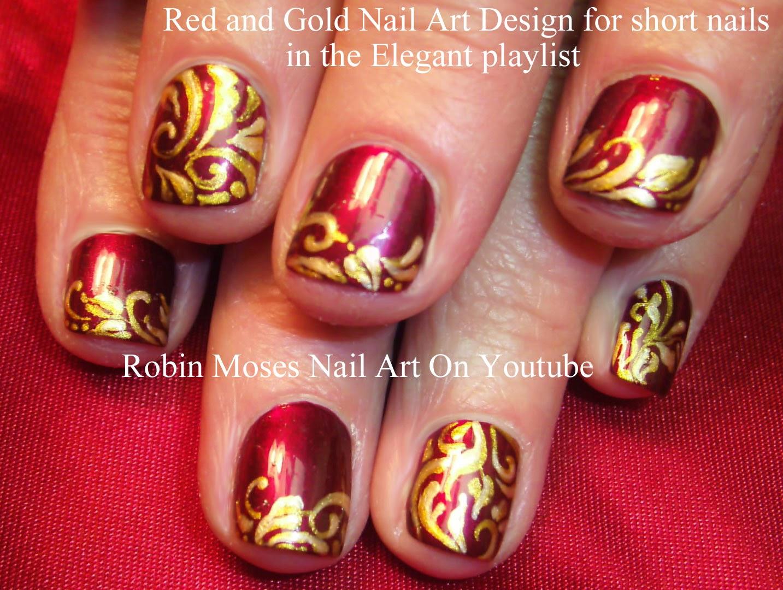 Nail Art By Robin Moses Christmas Nails Christmas Nail Art Pre