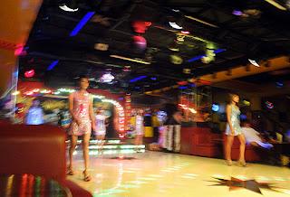 Nightclub girls in Yangon Myanmar