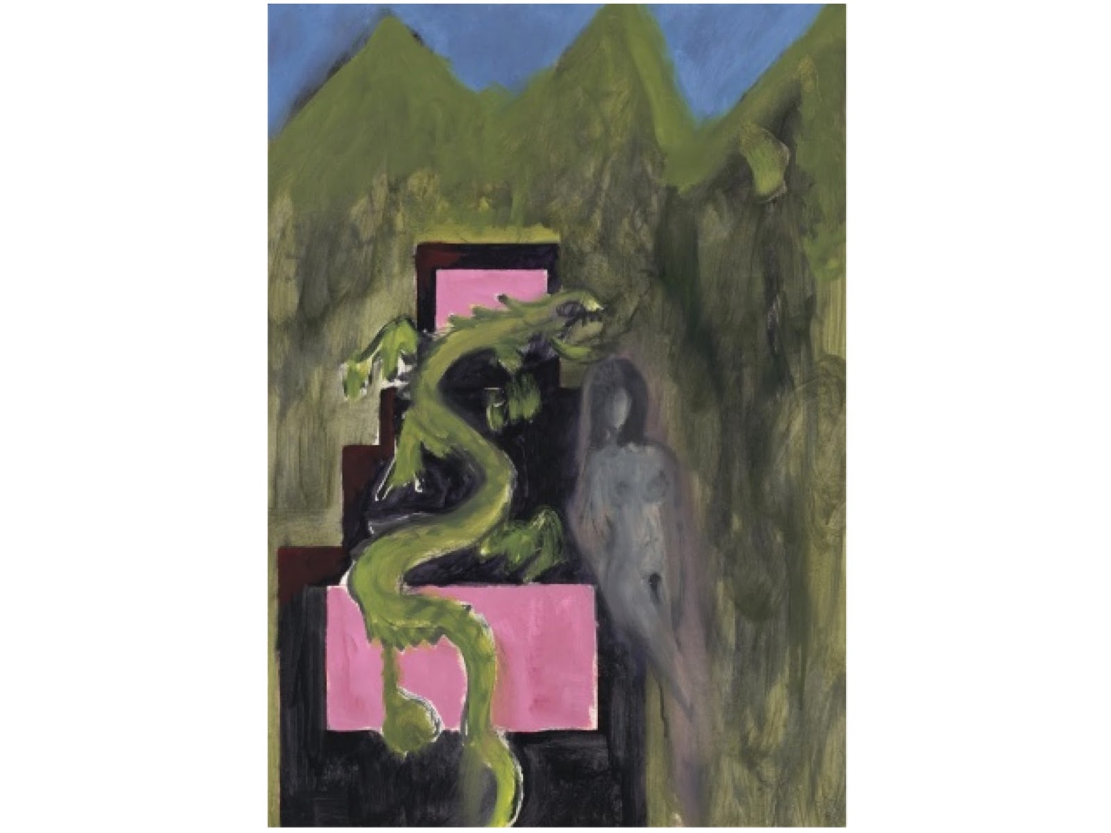 Enter the Dragon, Peter Doig