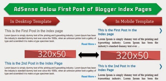 How to Show AdSense Below the Post Title in Blogger