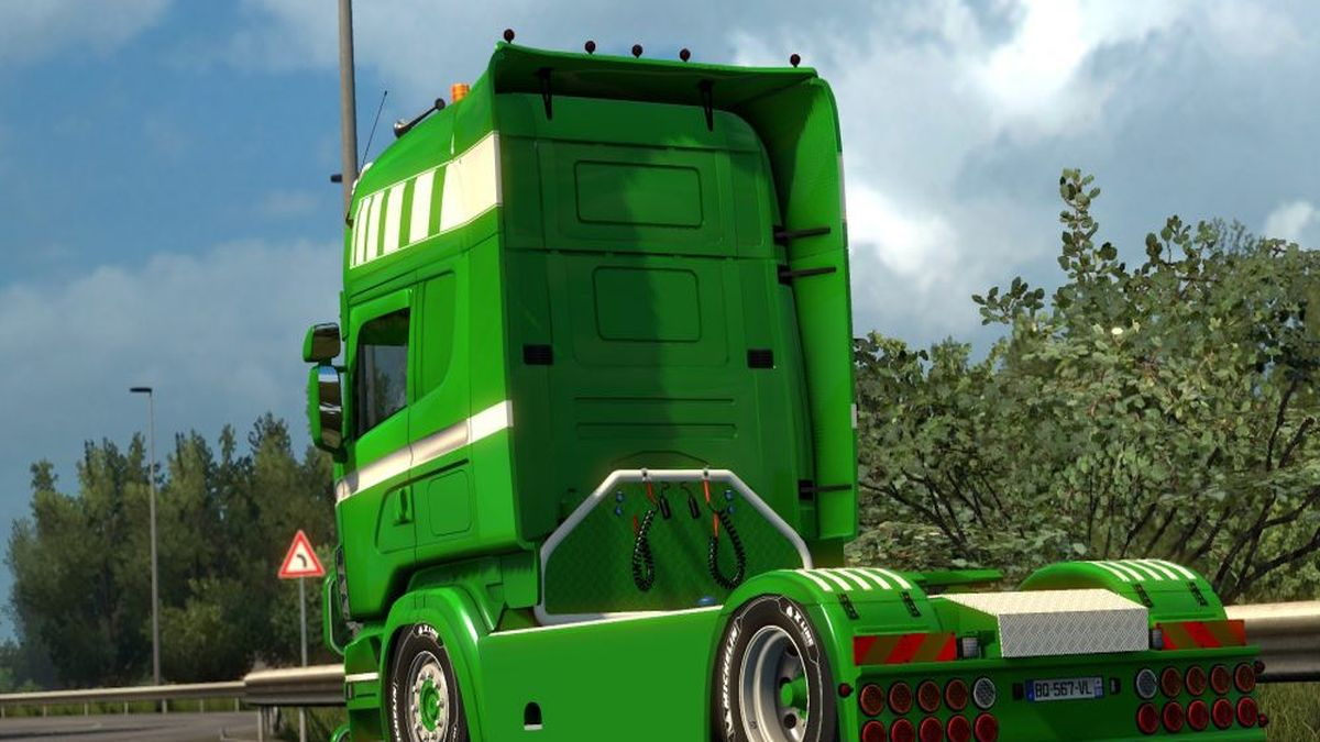 Scania RJL Green Liner Skin