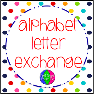 First grade found me the 6th alphabet letter exchange is almost full we need at least 5 more participants to fill 8 groups this year if youre interested in finding out what fandeluxe Choice Image