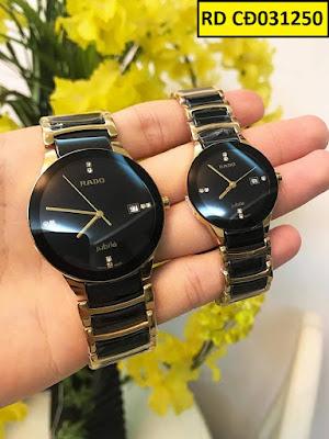 Đồng hồ cặp đôi đẹp nhất RD CD031250