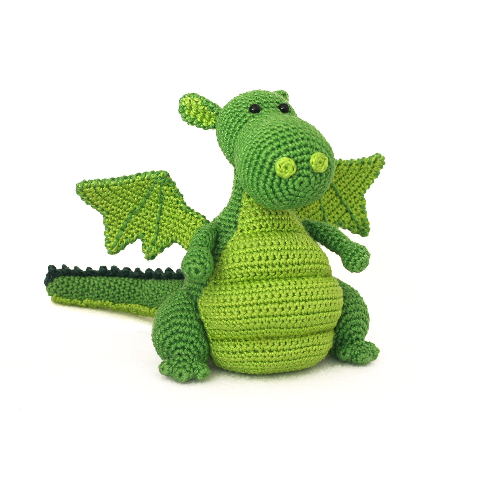 Large Amigurumi Pattern Free : Toy Patterns by DIY Fluffies : Dragon Amigurumi Pattern