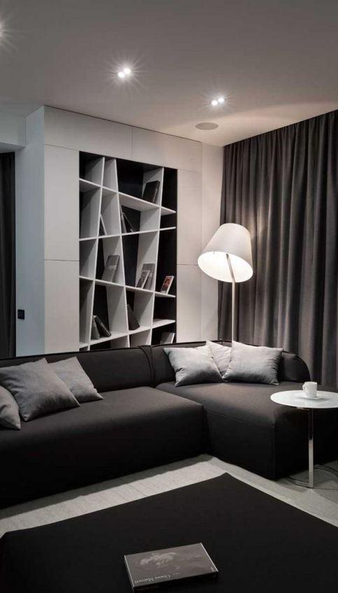 Graphite Penthouse Design Idea