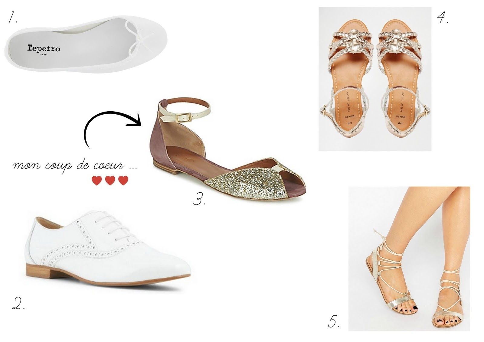 { Mode } On ose  Les chaussures plates pour son mariage