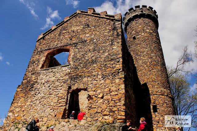 Zamek księcia Henryka na górze Grodna