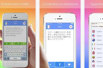 OGGI GRATIS: App da 10 €per tradurre interi testi e discorsi in un attimo