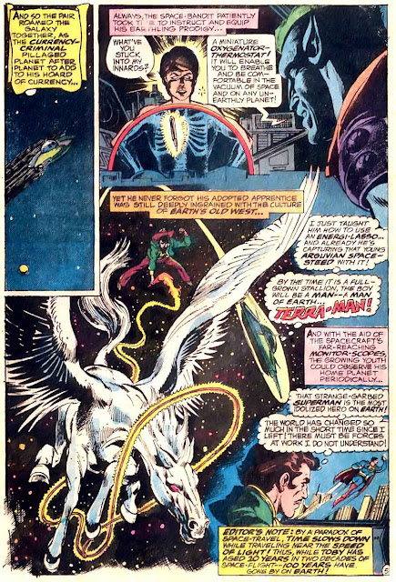Superman v1 #249 dc comic book page art by Neal Adams