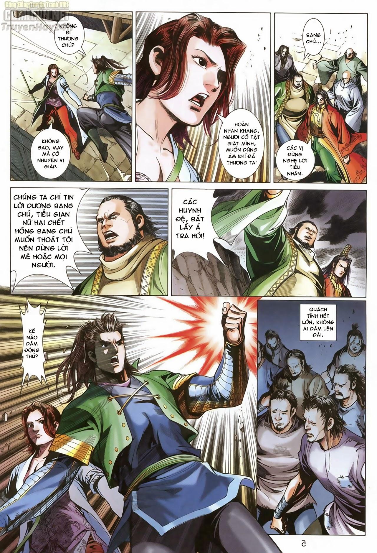Anh Hùng Xạ Điêu anh hùng xạ đêu chap 68: di thư chân kinh - lừa tình trang 6