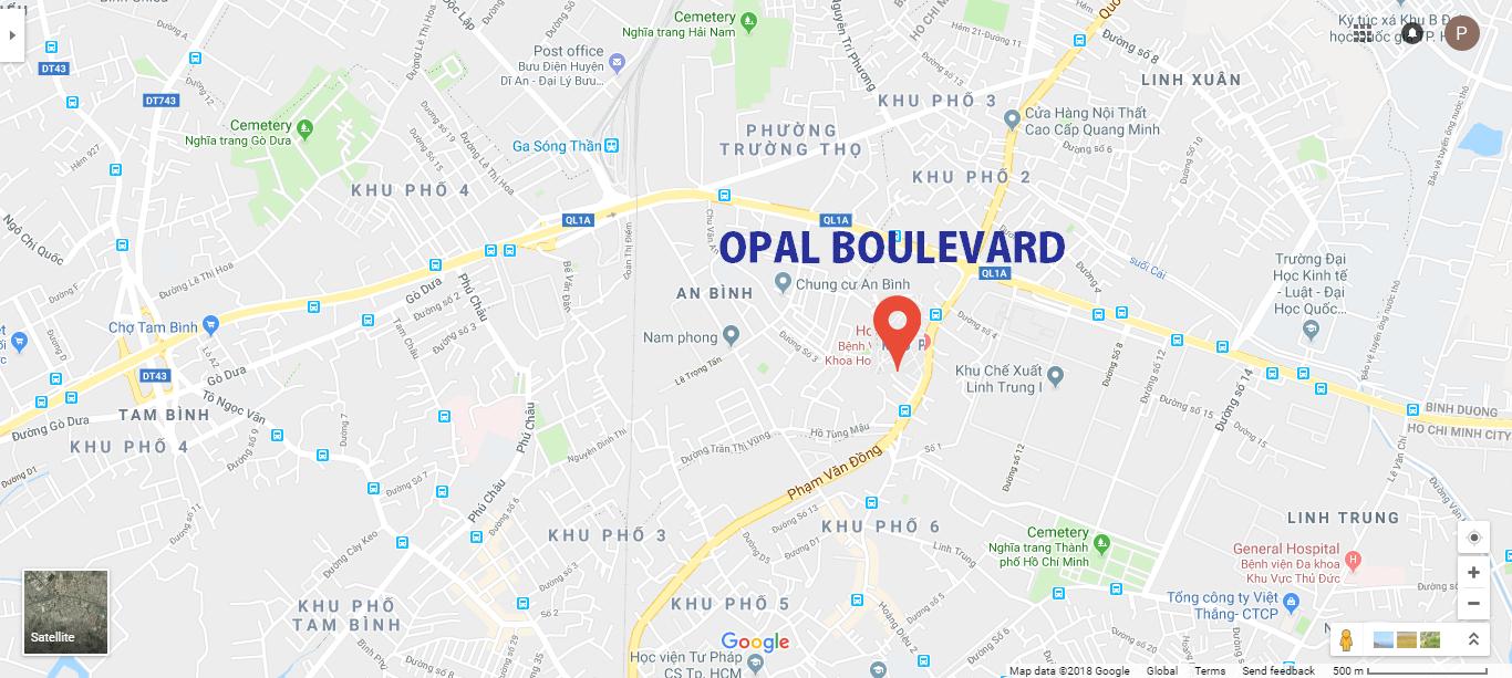 Opal Boulevard - Căn hộ mặt tiền Phạm Văn Đồng Thủ Đức