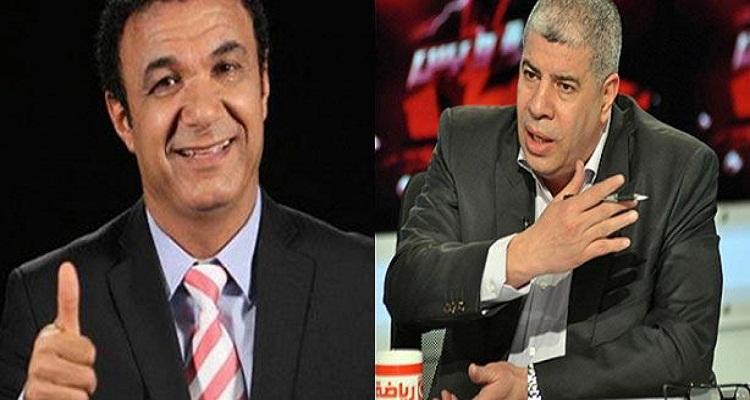 أحمد شوبير يفقد  أعصابه و يضرب الطيب على الهواء و المصريون مصدومون