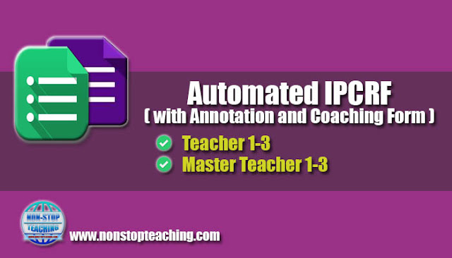 Automated IPCRF with Annotation and Coaching Form