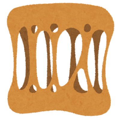 ネバネバのイラスト(触感)