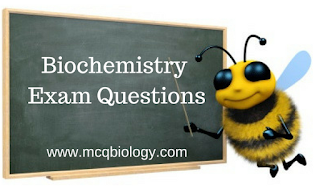 Biochemistry Exam Questions - Lecturer in Biochemistry Questions