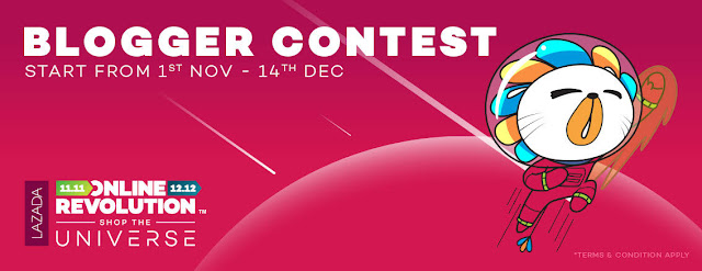 BLOGGER CONTEST | 1ST NOV - 14TH DEC