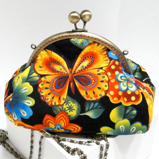 Летняя женская сумочка Яркие бабочки Подарок дочери на выпускной, сумка на цепочке