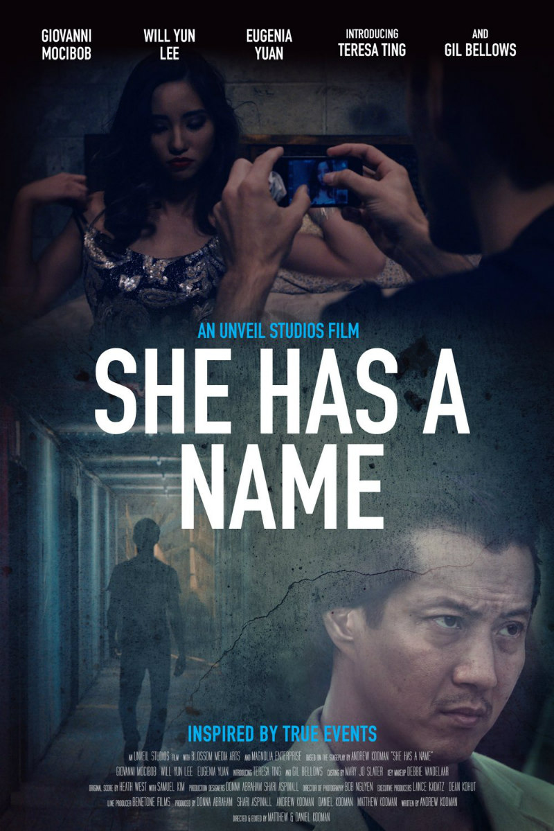 she has a name film poster