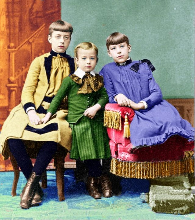 Retrolook: Kindermode von vor 100 Jahren