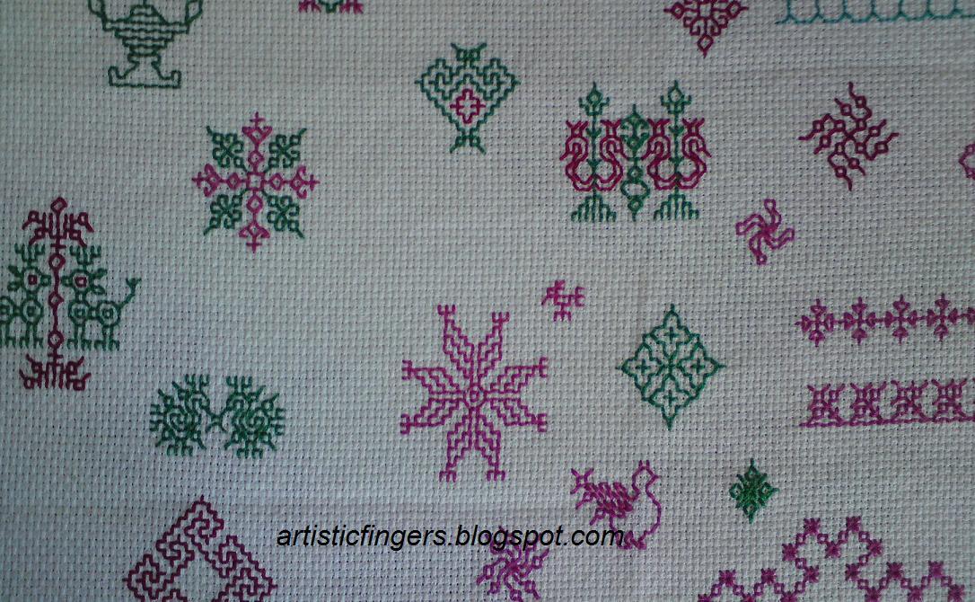 Artisticfingers Kasuti Embroidery