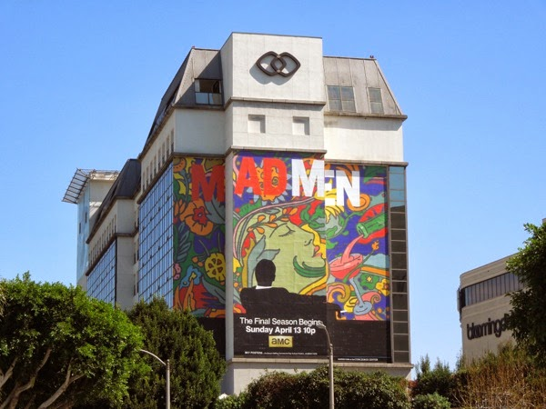 Giant Mad Men final season 7 billboard