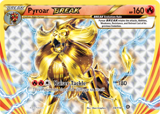 Pyroar BREAK Steam Siege Pokemon Card