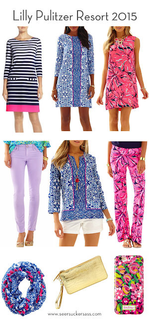 Lilly Pulitzer Resort 2015 Collection Seersucker Sass