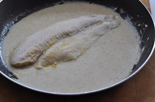 River Cobbler in White Wine Fish Sauce ~ Simple Food