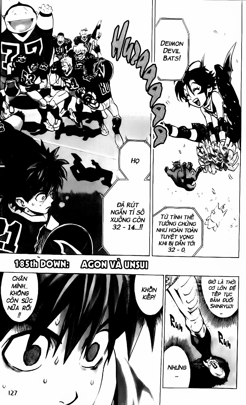 Eyeshield 21 chapter 185 trang 2