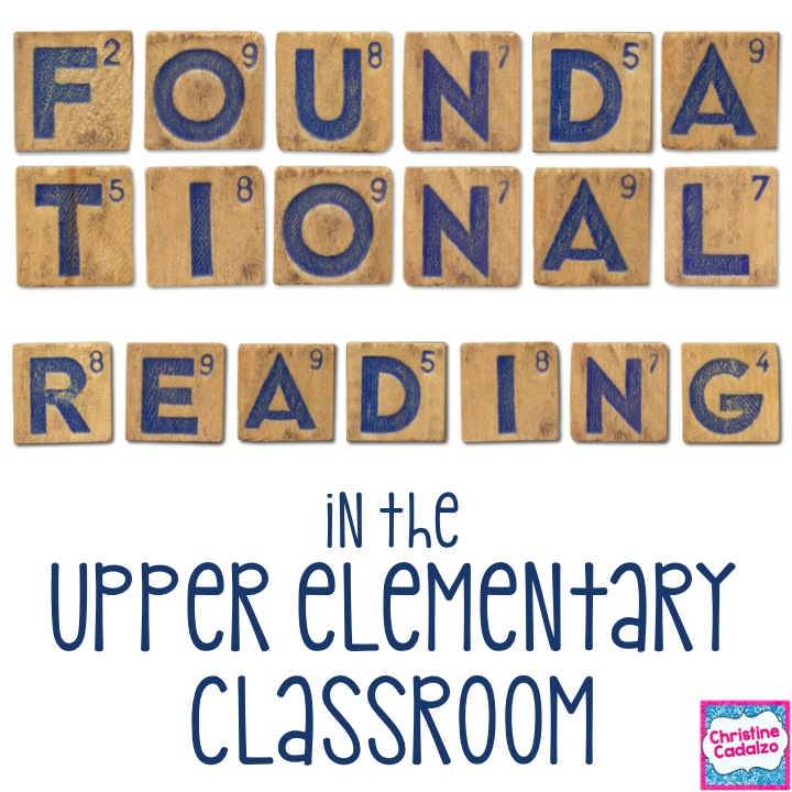 Teach Think Elementary Foundational Reading In Upper