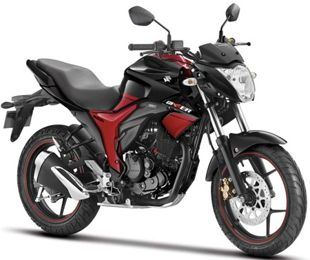 Skema 2 warna Suzuki Gixxer keren juga ya,,,