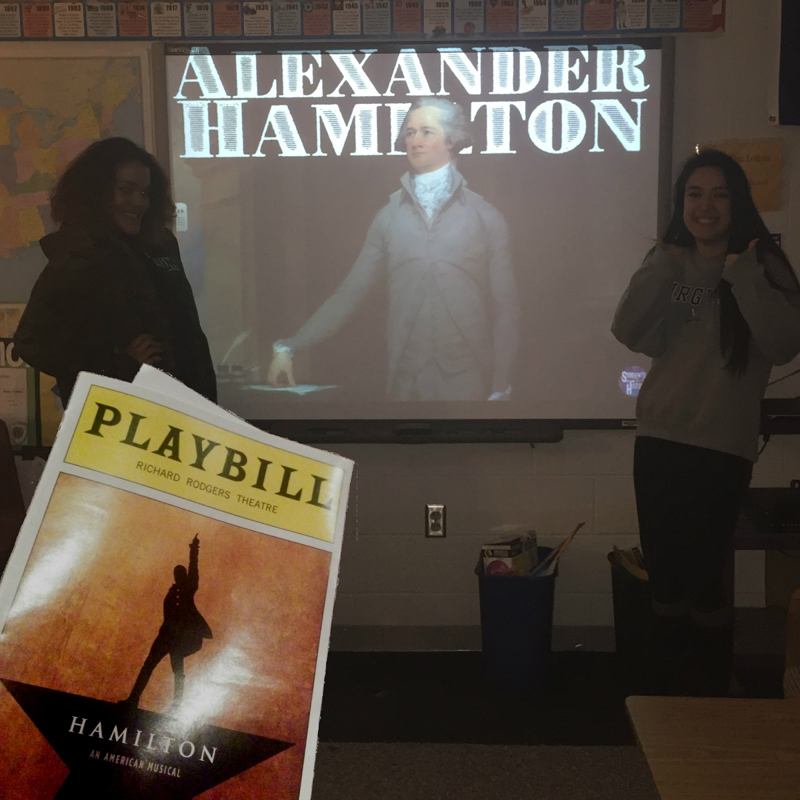Students Of History Alexander Hamilton Musical Lesson