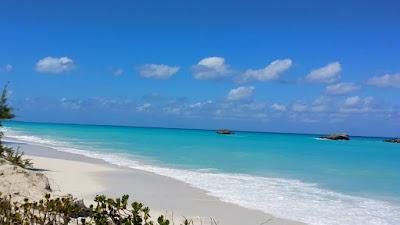 L'une des plus belles plages des Bahamas Tree Sisters Beach