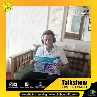 Talkshow sareng Bpk Jafarudin saking Anggota Komisi 3 DPRD Kota Cirebon. Ngobroli Pendidikan teng Kota Cirebon