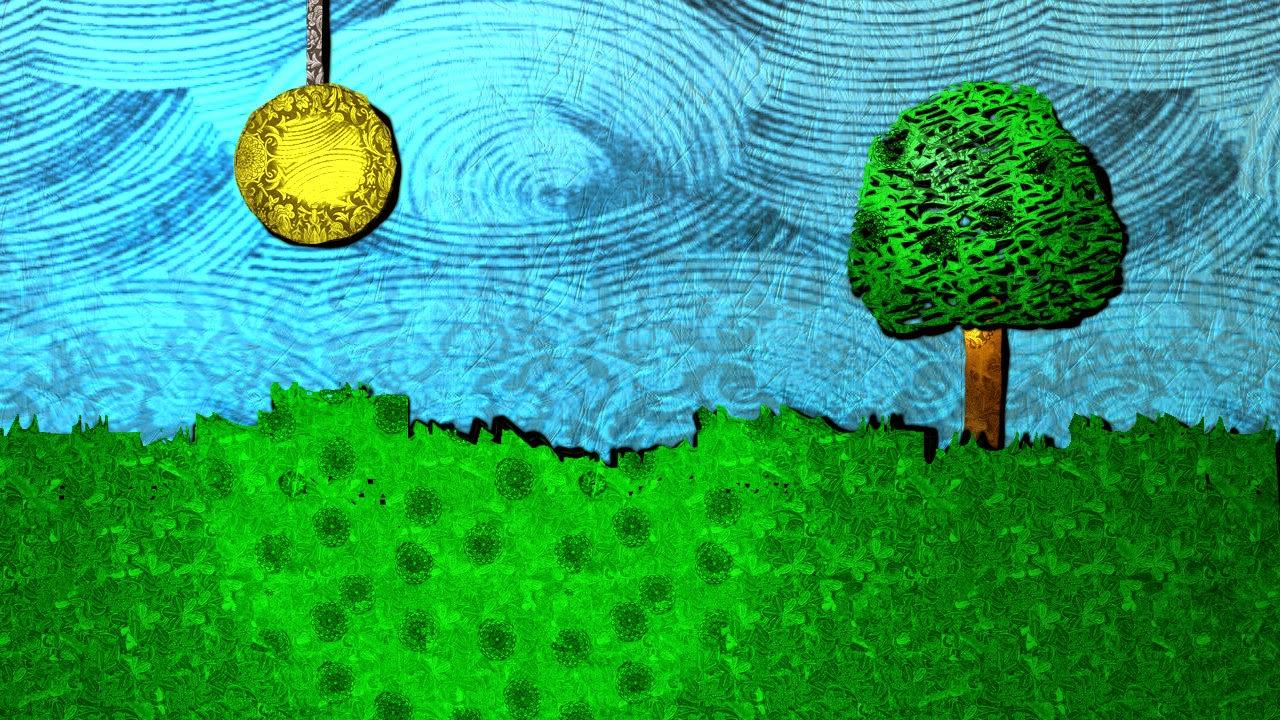 Digital Drawing of Landscape