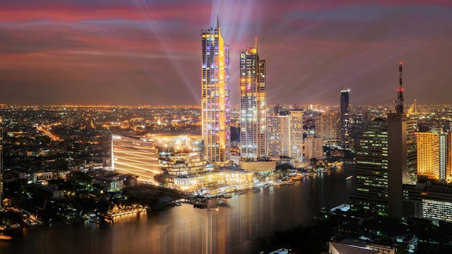 ICONSIAM, is a mixed-use development on the banks of the Chao Phraya River in Bangkok, Thailand which opened to the public on 10 November 2018, and includes two large malls, hotels and residences.