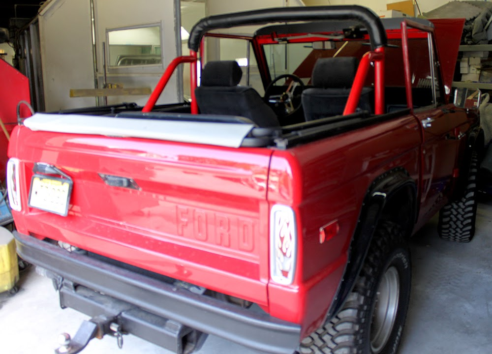 Ford Bronco Restoration - Netcong Auto Restorations, LLC. 973-527-3464