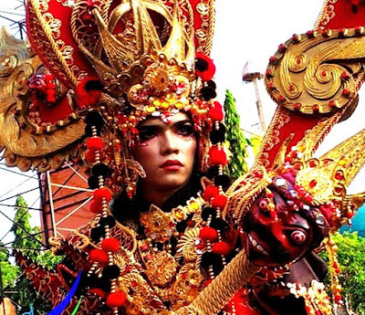 CARNIVAL COSTUM INDONESIA