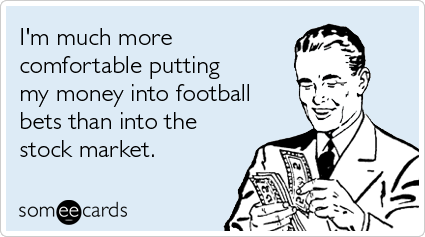 UMass Football  An Expensive DelusionGambling Addiction Meme