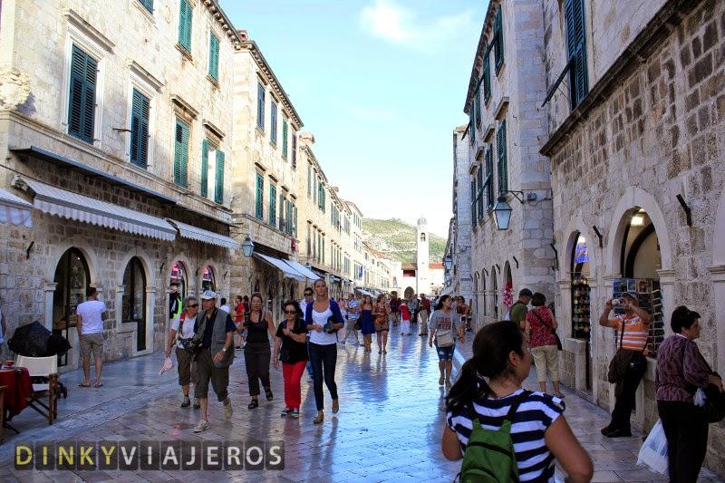 Qué ver en Dubrovnik. Calle Placa o Stradum