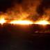 Μεγάλη πυρκαγιά σε καλαμιές στη Λίμνη Βιστωνίδα - Συναγερμός στην Πυροσβεστική  (+ΒΙΝΤΕΟ)